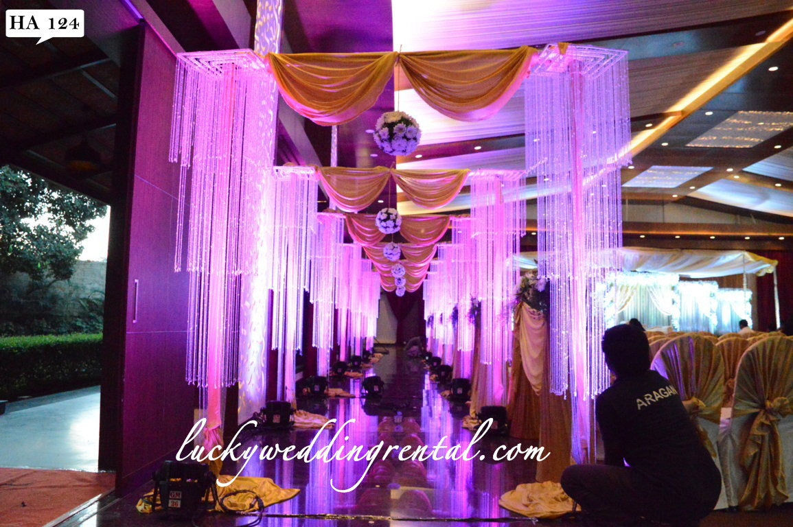Hangings Decorations | On Rent | Lucky Wedding Rental