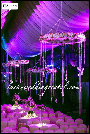 Lucky Wedding Rental hangings decoration