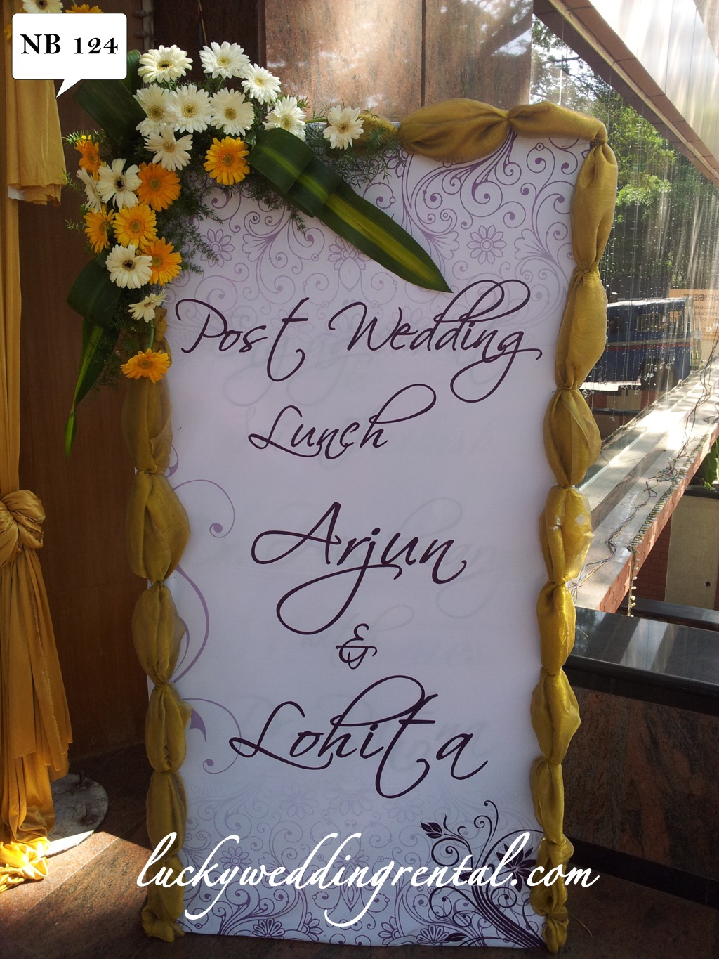 Name boards decorations on rent lucky wedding rental lucky wedding rental name board decoration junglespirit Images