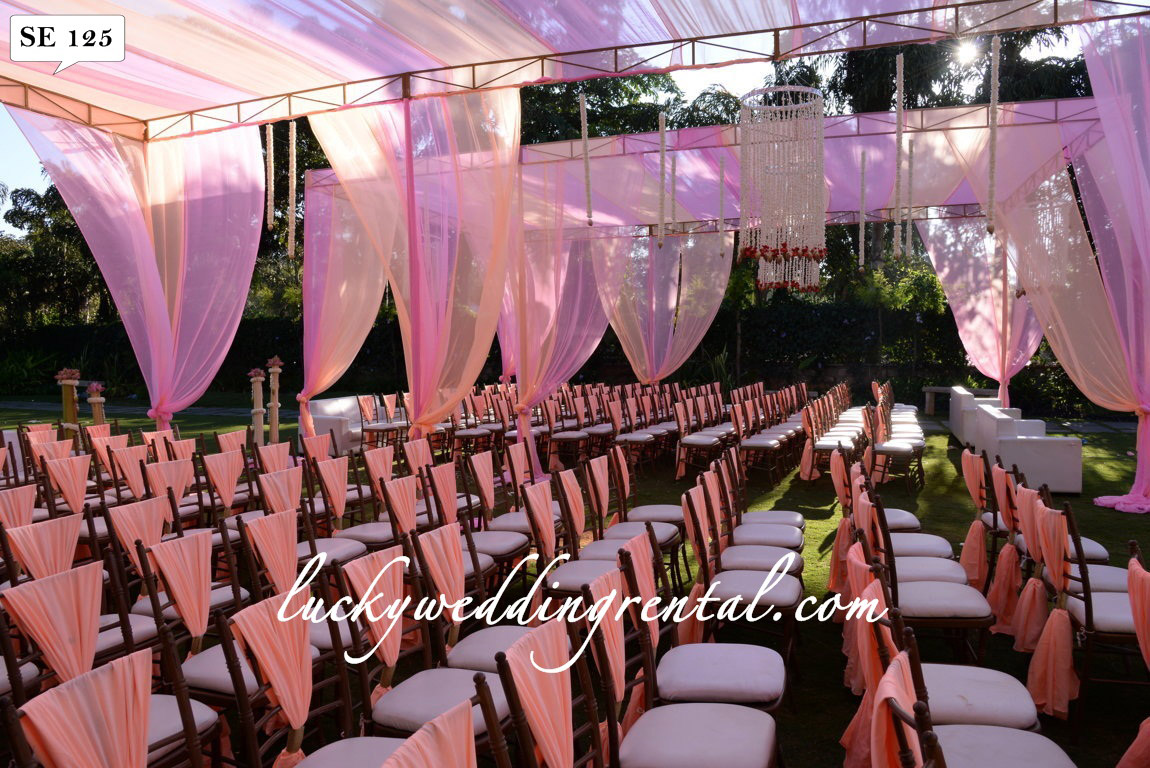 Lucky Wedding Rental Seating Decoration