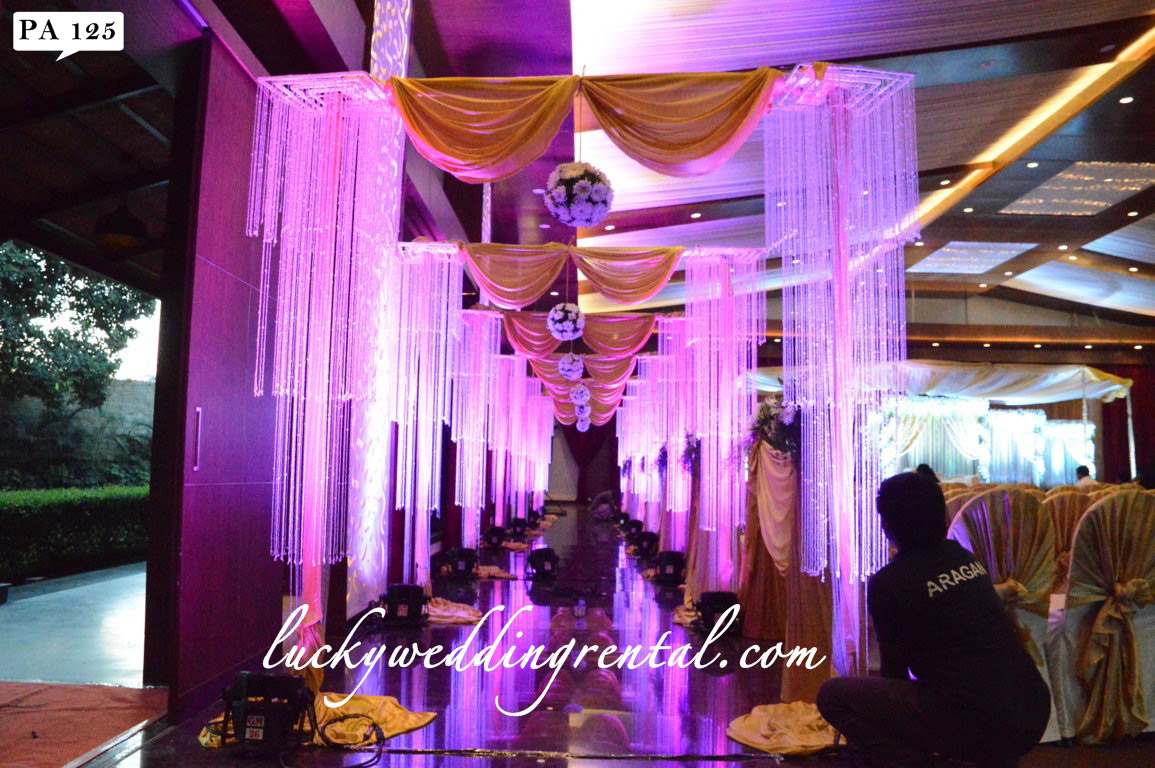 Pathway Decorations On Rent Lucky Wedding Rental