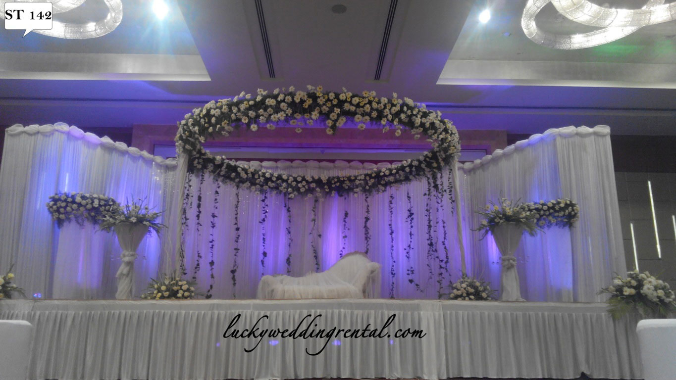 for table decoration stage decor elegant reception wedding images decorations