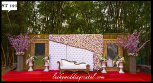 Lucky Wedding Rental stage decoration