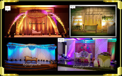 Lucky wedding rentals rent all wedding material in bangalore stage decorations junglespirit Gallery